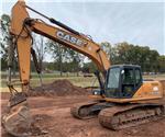 CASE CX210B, Crawler Excavators, Construction Equipment