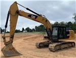 Caterpillar 324EL, Crawler Excavators, Construction Equipment