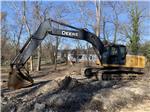 John Deere 240D LC, Crawler Excavators, Construction Equipment