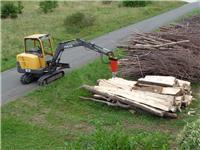 [Other] Konusni cepilec drv za bagre Kegelspalter Holzspal