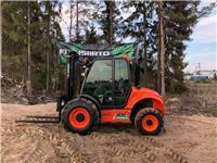 Ausa C 250 H X4 maastotrukki, Dieseltrukit, Materiaalinkäsittely