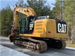 Caterpillar CAT 329E L 329EL rotortilt gps skopor