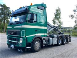 Volvo FH460 8x4*4 Tridem * Juuri katsastettu *, Koukkulava kuorma-autot, Kuljetuskalusto