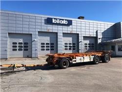 Istrail Pkw 186 Lastväxlarvagn, Lastväxlarsläp, Transportfordon
