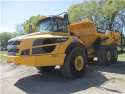 Volvo A40G, Articulated Dump Trucks (ADTs), Construction Equipment