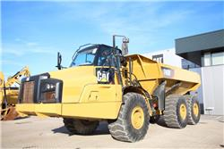 Caterpillar 740 B, Knik dumptrucks, Bouw