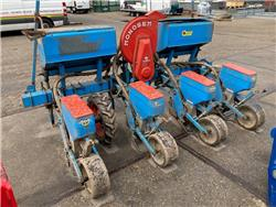 Monosem 4 rij maispoter, Precision Sowing Machines, Agriculture