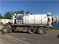 Volvo FM Rolba slamsug 2019 for parts, Tankbilar, Transportfordon
