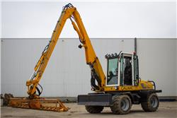 Gallmac WMW 115, Wheeled Excavators, Construction