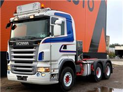 Scania R500 Full steel, Retarder, Hydraulics, Sadulveokid, Transport