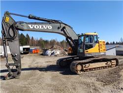Volvo ECR 305 C L, Telakaivukoneet, Maarakennus