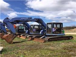 Hitachi EX75UR, Midi excavators  7t - 12t, Construction