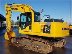 Komatsu PC 210 LC-8, Crawler Excavators, Construction Equipment