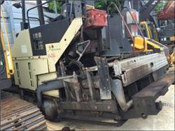 Volvo ABG6820, Asphalt pavers, Construction