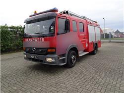 Mercedes-Benz Atego 1325 Plastisol, Fire trucks, Transportation