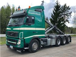 Volvo FH460 8x4*4 Tridem, Multilift koukkulaite, Koukkulava kuorma-autot, Kuljetuskalusto