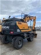 Hyundai HW140, Hjulgrävare, Entreprenad