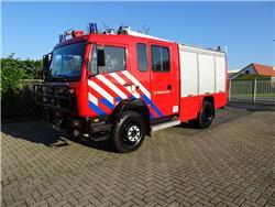 Mercedes Benz 1124 4x4 Rosenbauer, Fire trucks, Transportation