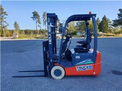 Heli CPD15SQ - 1,5 t el. truck - 4,7 m LH (PÅ LAGER), Elektriske trucker, Truck