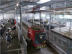 Trioliet Triomatic HP 2 300 + T40, Voerrobot / Automatisch voersysteem, Landbouw