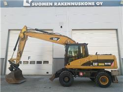 Caterpillar M 318 D, Wheeled Excavators, Construction Equipment