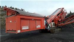 Sandvik QA 450, Mobila sorteringsverk, Entreprenad