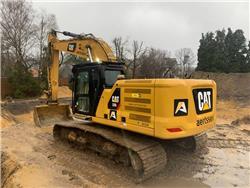 Caterpillar 330 (CAT Accugrade included), Crawler excavators, Construction