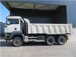 MAN TGA26.350 6x6, Kipper, Transport