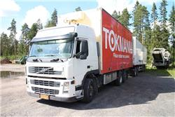 Volvo Ekeri 3 aks+ Dolly kokoksivuyhdistelmä, Umpikorikuorma-autot, Kuljetuskalusto