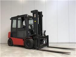 Doosan B50X-5, Elektrische heftrucks, Laden en lossen