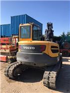 Volvo ECR 88 D, Excavadoras 7t - 12t, Construcción