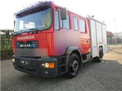 MAN 18-284 Firetruck, Fire trucks, Transportation