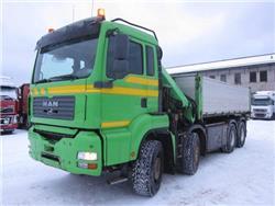 MAN TGA35.430 8x4, Kraanaga veokid, Transport