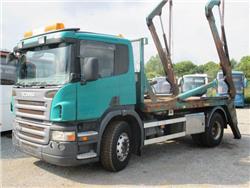Scania P310 LIFTDUMPER, Skip loader trucks, Trucks and Trailers