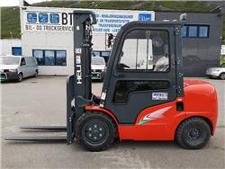Heli CPCD35 (G2) - 3,5 t diesel - 3,0 m LH (PÅ LAGER), Diesel Trucker, Truck