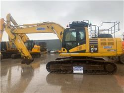 Komatsu PC210LC-10, Crawler excavators, Construction