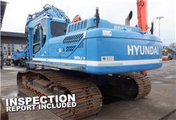 Hyundai Robex 380 LC-9, Rupsgraafmachines, Bouw