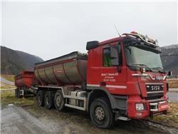 Sisu DK 16 305+140-137, Tipper trucks, Transportation