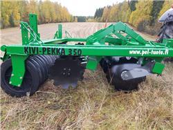 Kivi-Pekka 350 lautasmuokkain HUIPPUKUNTOINEN!, Kiekkomultaimet ja lautasäkeet, Maatalous