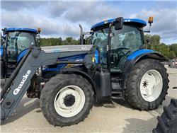 New Holland TS 135 A, TG, FLP, Quicke Q65 St.BM, Traktorer, Lantbruk