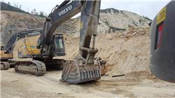 Volvo EC480DL, Crawler excavators, Construction