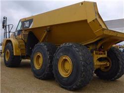 Caterpillar 740, Articulated Dump Trucks (ADTs), Construction Equipment
