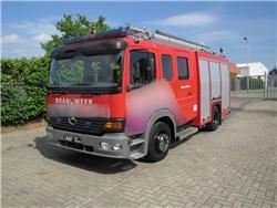 Mercedes Benz Atego C&C  Firetruck, Fire trucks, Transportation