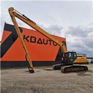 CASE CX240B LONG REACH, Special excavators, Construction Equipment