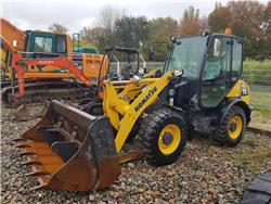 Komatsu WA70-7, Wheel Loaders, Construction Equipment