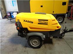 Atlas Copco XAS 47, Compressors, Construction