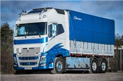 Volvo FH16 750 hk - 2014, Spannmålsbil, Transportfordon