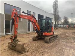Kubota U 55-4, Mini excavators < 7t (Mini diggers), Construction