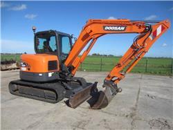 Doosan DX62R-3, Mini digger, Construction Equipment