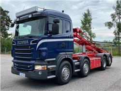Scania R500 8x2*6 Vaihtolava-auto, Vaihtolava-autot, Kuljetuskalusto